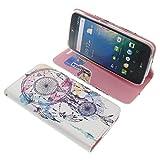 foto-kontor Tasche für Acer Liquid Z630 Liquid Z630S Liquid M630 Book Style Traumfänger Schutz Hülle Buch