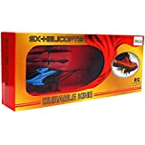 ElectroBot Remote Control Sx-Helicopter Mini 2 Channel RC Helicopter, Easy & Ready To Fly, With Gyroscope