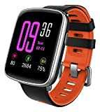 Best Android Smartwatches - Smartwatch,YAMAY Bluetooth Smart Watch Waterproof IP68 Fitness Tracker Review