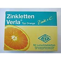 ZINKLETTEN Verla Orange Lutschtabl., 50 St preisvergleich bei billige-tabletten.eu