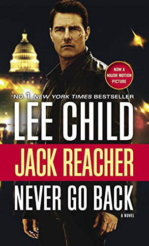 Book cover for Never Go Back