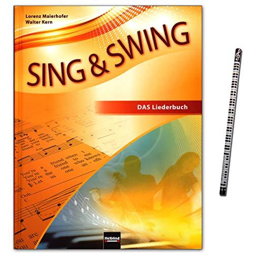Sing & Swing - DAS neue Liederbuch (Hardcover) - Rund 300 Lieder und Songs - Bekanntes und Neues in großer stilistischer Vielfalt - Helbling Verlag 9783862271641