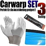 Car Wrap Set para Auto vollfolierung–Raspador Set–Auto protectores