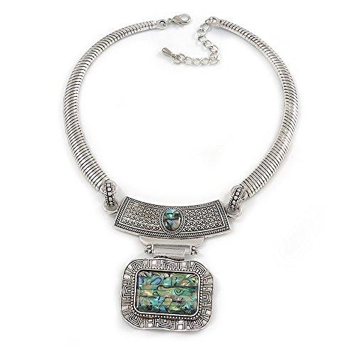 Jet Black Diamante /'Hoop/' Earrings In Rhodium Plating 6cm Diameter