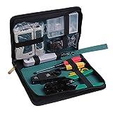 Computer Reparatur Tool, 11 in 1 Professionelle Netzwerk Computer Wartung Tool Kit LAN Kabel Tester Internet Reparatur-Kit Toolbox