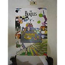 (24 x 36) The Beatles Yellow Submarine Póster con diseño de música