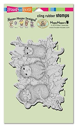 Unbekannt Stampendous Gummi House Maus selbst Stempel 7.75-inch X 11,4, Weihnachten Zeichen (Kunst-herbst-stempel)