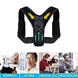 Élégant et raffiné Correcteur de posture ajustable Support dorsal Ceinture orthopédique Bande de correction de posture pour hommes et femmes