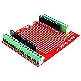 ICQUANZX Proto Tornillo Shield montado Terminal Terminal Prototipo Placa de expansión Fuente de Apertura Botón de reinicio PC
