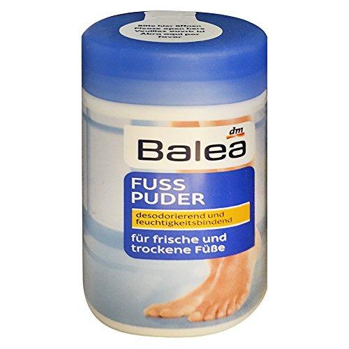 Balea Fußpuder für frische und trockene Füsse (100g Dose)