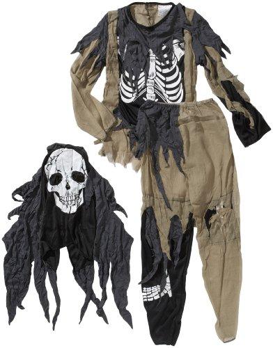 Boland 87607 - Kinder-Kostüm Zombie Skelett, Größe (Zombie Skelett)