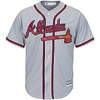 Majestic Authentic Cool Base Jersey - Atlanta Braves - L