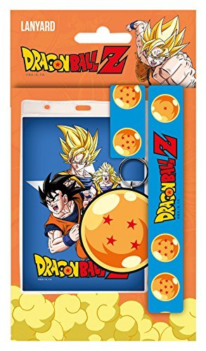 GB eye Dragon Ball Z, Goku Lanyard, Multi-Colour by GB Eye Limited