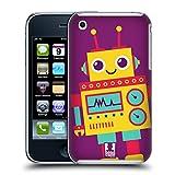 Head Case Designs Pete Robot Kids Hard Back Case for Apple iPhone 3G / 3GS