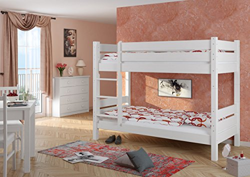 preisvergleich erst holz stockbett mit berl nge 100x200 willbilliger. Black Bedroom Furniture Sets. Home Design Ideas
