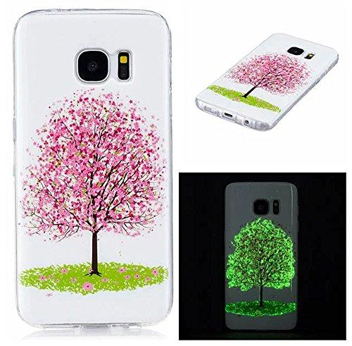 Preisvergleich Produktbild Samsung Galaxy S7 Hülle Tiere Muster, Neu Tasche ISENPENK Für 5