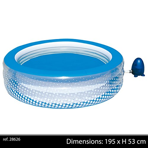 Bestway 51109B - Whirlpool 196 x 53 cm - Bubble Play Pool, GS 220 V