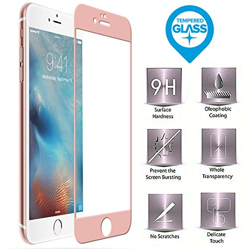 BisLinks® Marke Neu Temperiert Glas Screen Protector Rose Gold For Apple iPhone 7 Subsidiary