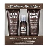 ManCave BlackSpice Beard Gift Set