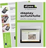 dipos I 2X Schutzfolie matt passend für Lenovo Tab4 10 TB-X304F Folie Displayschutzfolie