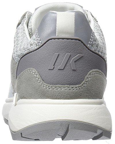 Lumberjack Herren Detroit Sneaker Bianco (Off Whitelt Grey)