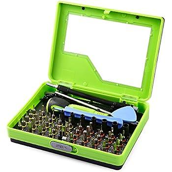 firefly1989 53 en 1 Kits de tournevis tournevis de précision set outil Torx cross réparation professionnel fente régler la précision pour PC portable Smartphone téléphones portables et autres produits électroniques