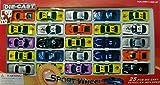 25-Spielzeugautos-DIE-CAST-Sportwagen