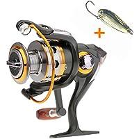 BNT barco Rock Spinning Carrete de pesca 11BB 5.2: 1carrete de Rueda de Metal de pesca de carpa 100020003000400050006000series