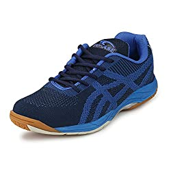 ProASE Premium Blue Badminton Shoes (8 UK)