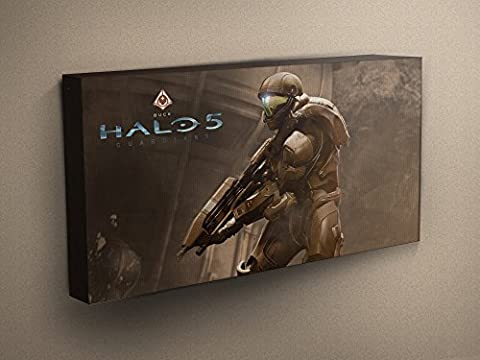 Halo 5 Guardians - Buck Stretched & Mounted Canvas Art