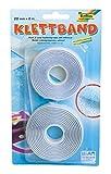 folia 2302 - Klettband selbstklebend, 20 mm x 2 m, weiß