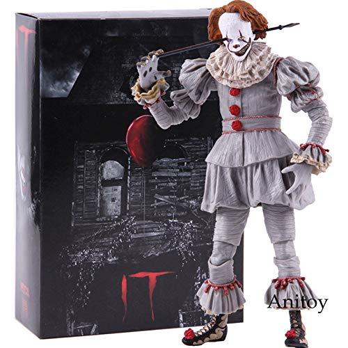 T 2017 Ultimate Well House der Clown Pennywise Figur Action PVC Horrorfilm Puppen Sammlerstück Modell Spielzeug ()