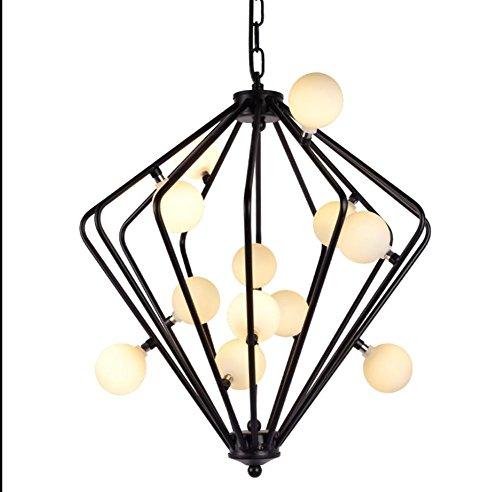 FWEF Ferro-Tipo Lampadario Semplice Illuminazione Moderna Creativa