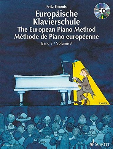 Europäische Klavierschule. The European Piano Method. Méthode de Piano européenne. Band 3