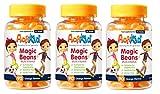 Gli ingredienti Multi-Vitamins di ActiKid Magic Beans hanno numerosi benefici per la salute tra cui: - Vitamina A & Biotina può aiutare a mantenere sani i capelli, la pelle e gli occhi - zinco, vitamina B6 e vitamina D contribuiscono alla normale...