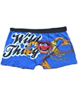The Muppets Animal Men's 1 Pair Blue Boxer Shorts Trunks Size S-XL Available