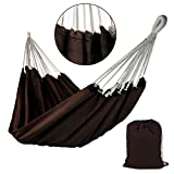 BB SPORT Tuch Hängematte Taino 200 x 140 cm in vielen Farben, Farbe:Chocolate