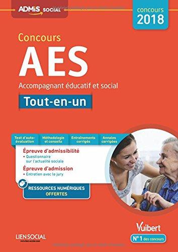 Concours AES - Tout-en-un - Concours 2018 - Accompagnant éducatif et social - Concours 2018