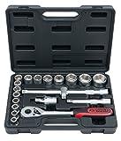 KS Tools 911.0620 1/2' Steckschlüssel-Satz, 20-tlg.