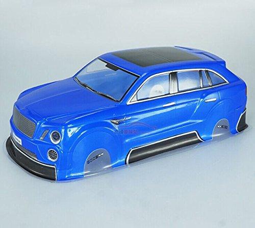 yhc-1-10-scale-blue-pvc-bentley-body-shell-for-rc-on-road-drift-car-hsp-hpi-tamiya