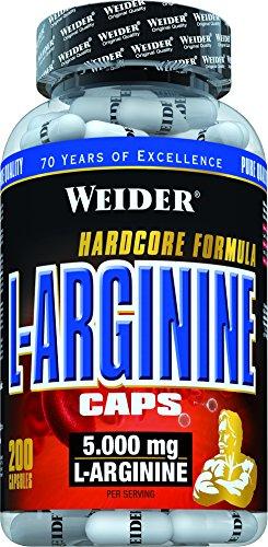 #Weider – L-Arginine Caps, 200 Kapseln (276 g)#
