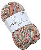 Rico Baby cotton soft print Babywolle dk Farbe 16 Wolle zum Stricken & Häkeln