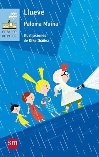 Llueve (El Barco de Vapor Azul) por Paloma Muiña Merino
