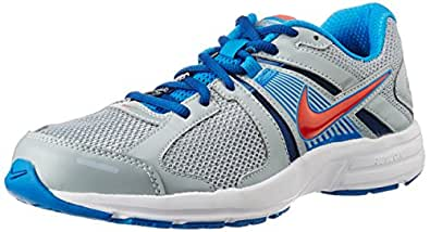 Nike Men's Dart 10 MSL Magenet Grey and Blue Running Shoes -12 UK
