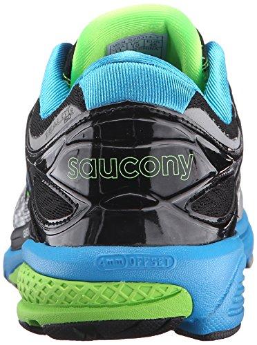 Saucony Zealot Iso 2, Entraînement de course homme Multicolore - Multicolore (Blue/Slime/Silver)