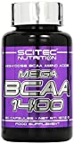 Scitec Mega BCAA 1400 90 Kapseln, 1er Pack (1 x 128 g)