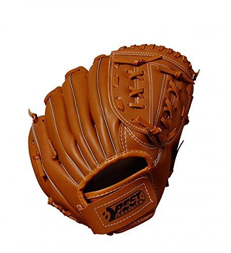 Best Sporting Baseballhandschuh braun-natur aus Kunstleder, Größe Senior -