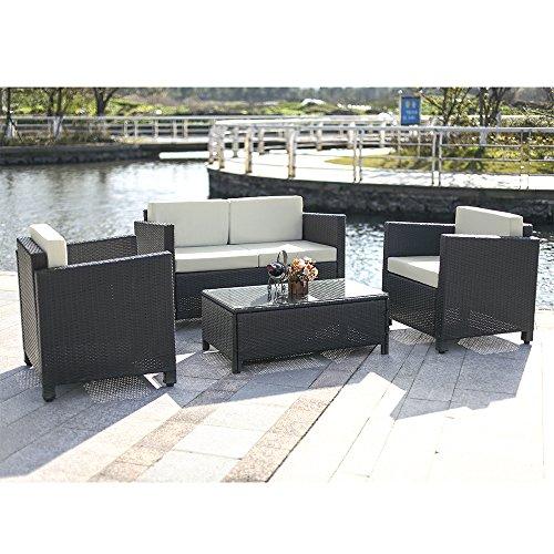 iKayaa 4pcs Rattan Outdoor Patio Furniture Set Garden Sofa  : 51i5j9q2BPiL from www.uk-rattanfurniture.com size 500 x 500 jpeg 56kB