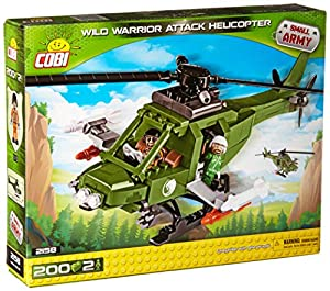 COBI- Small Army-WarriorAttack Helicopter (200 Pcs) Juguete, (2158)