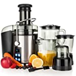 Savisto 4-in-1 800W Power Juicer with...